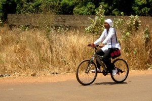 Gambia cycling