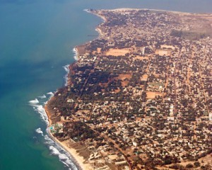 The beautiful Gambian Coastiline