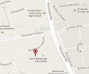 map north edinburgh arts